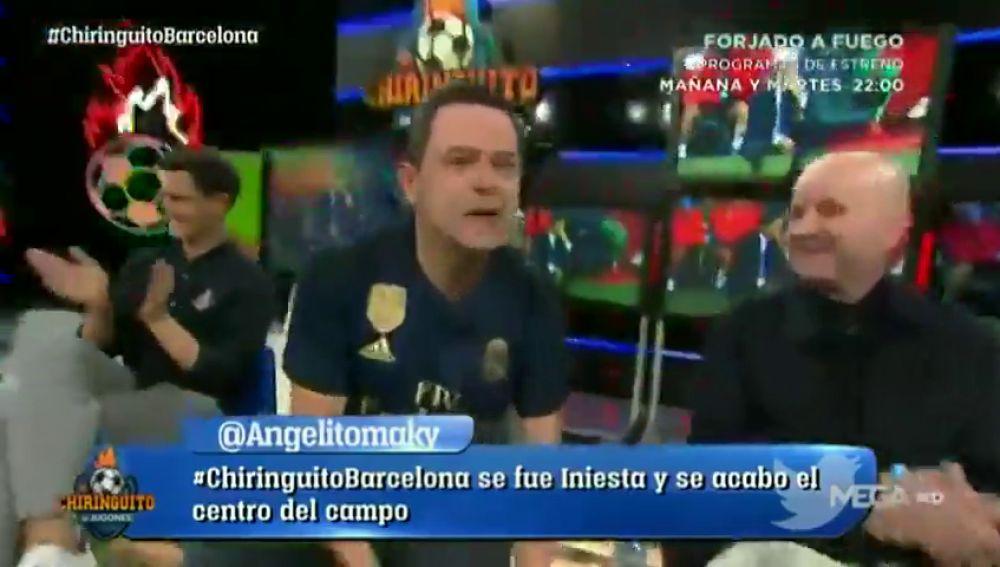 La atrevida promesa de Tomás Roncero en El Chiringuito si el Real Madrid gana el sextete