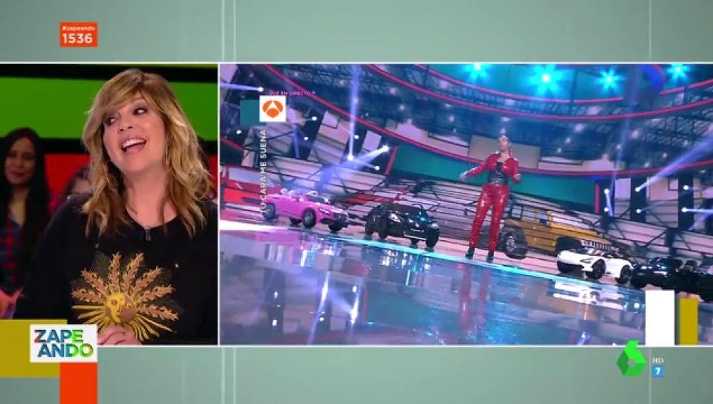 La divertida imitación de Belinda Washington a Isa Pi y su 'ahora estoy mejor' en Zapeando
