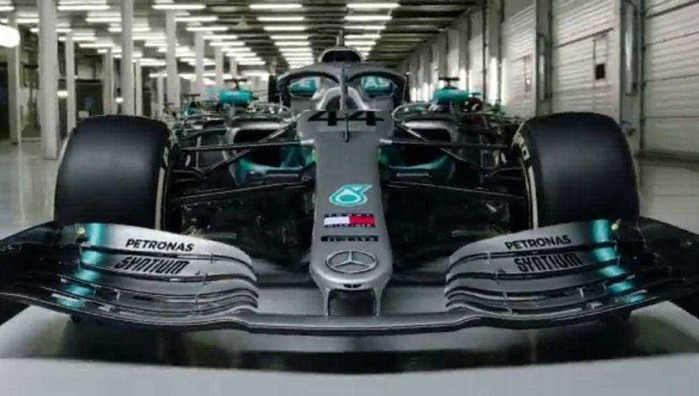 El Mercedes de Lewis Hamilton