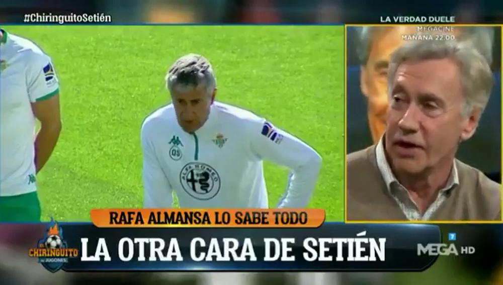"""""""Nunca vi a un entrenador tomar por c*** a la afición del Betis"""": Rafa Almansa habla del fichaje de Setién por el Barça"""