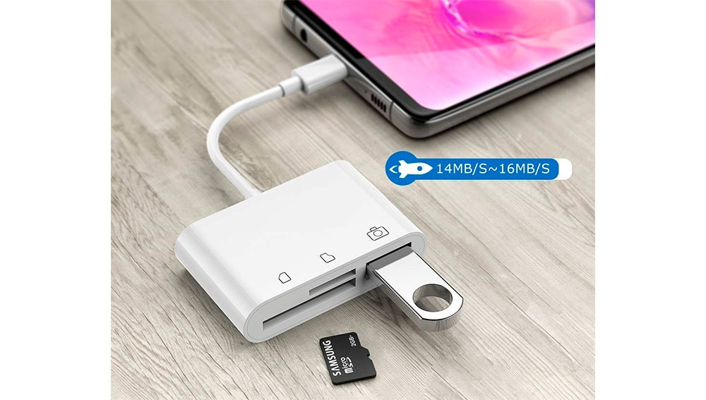 Lector de tarjetas USB tipo C