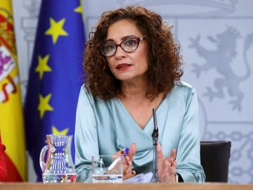 María Jesús Montero en la rueda de prensa posterior al Consejo de Ministros