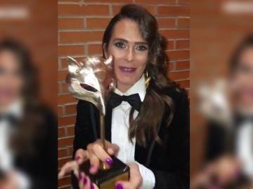 Anna Allen en los Premios Feroz