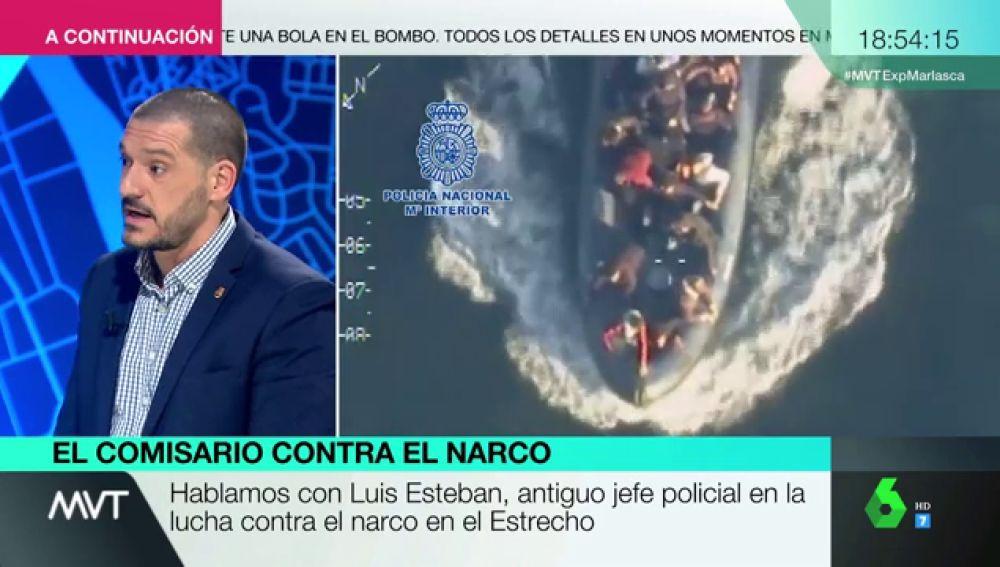 """Luis Esteban, exjefe de la comisaría de Algeciras: """"'Moroloco' es el epítome de los rasgos de los grandes narcotraficantes del Estrecho"""""""