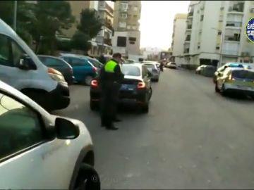 Un conductor de VTC atropella a dos personas en Sevilla tras quedare dormido
