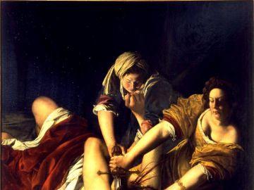 Cuadro 'Judit decapitando a Holofernes' de Artemisia Gentileschi.