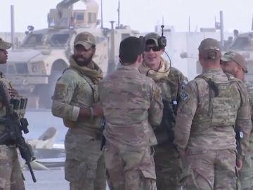 Imagen de tropas estadounidenses en Irak