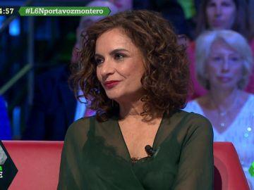 """María Jesús Montero: """"Este país no puede caminar sin unos Presupuestos, espero que el resto de fuerzas tengan sentido común"""""""