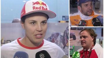 Pilotos españoles, rendidos a Fernando Alonso