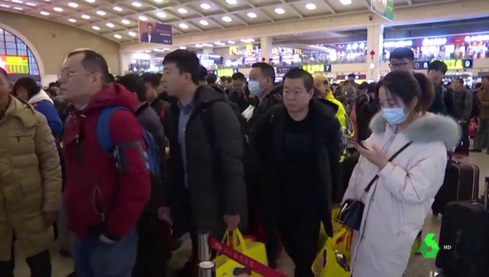 Imagen de archivo de un aeropuerto chino