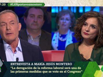 """María Jesús Montero afirma que se derogarán los aspectos más lesivos de la reforma laboral: """"Será una de las primeras medidas"""""""