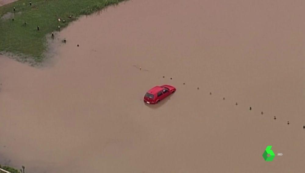 Imagen de las inundaciones en Australia