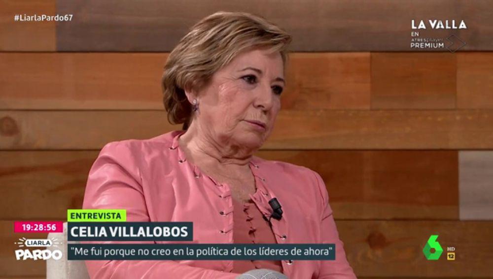 """Celia Villalobos: """"Le diría a Pablo Casado que"""
