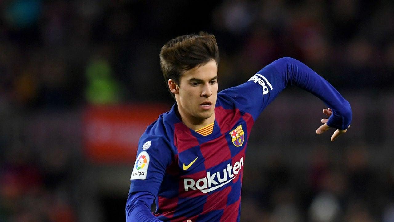 Riqui Puig, con el Barça