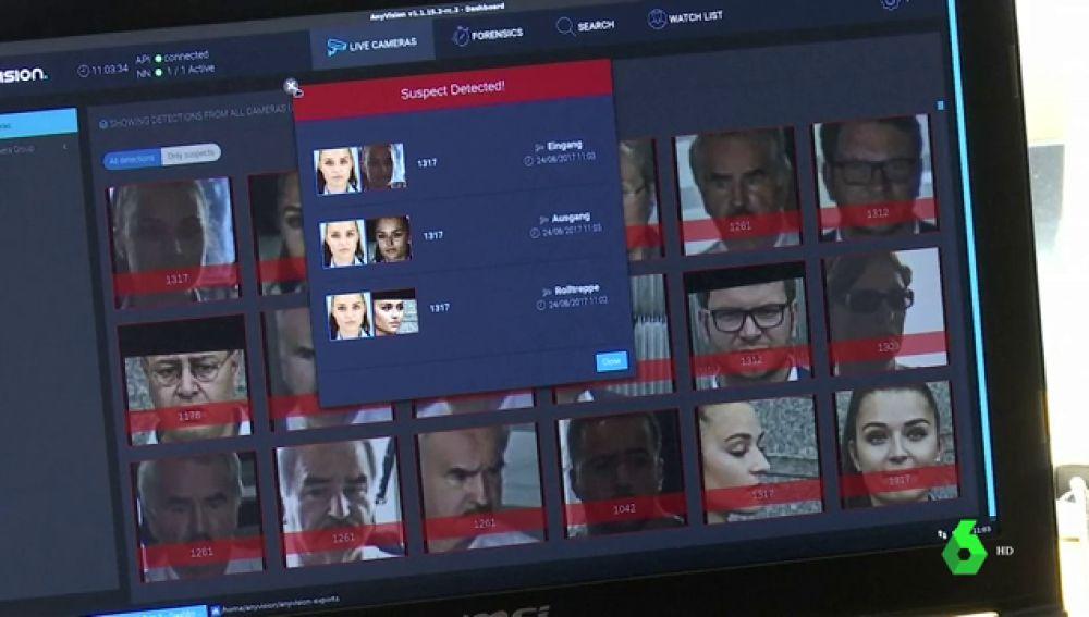 Una aplicación permite a la Policía identificar casi a cualquier persona a través de una sola foto