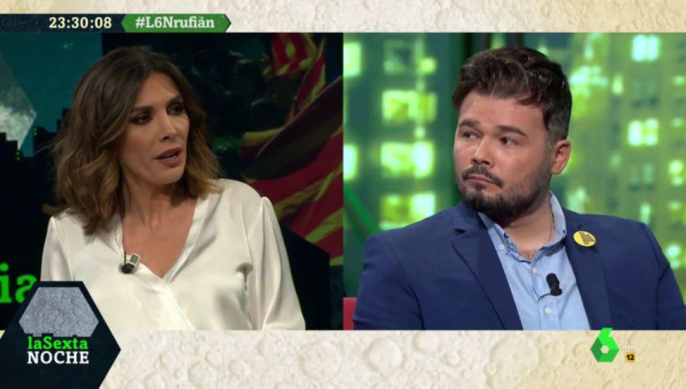 Gabriel Rufián explica las condiciones de Esquerra para apoyar los Presupuestos del Gobierno de coalición