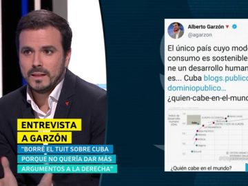 """Alberto Garzón: """"Nunca he dicho que quiera convertir a España en Cuba"""""""