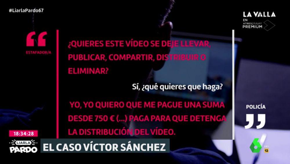 Exclusiva   Recreamos la negociación entre un policía infiltrado y los ciberestafadores que extorsionaron a Víctor Sánchez del Amo