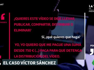 Exclusiva | Recreamos la negociación entre un policía infiltrado y los ciberestafadores que extorsionaron a Víctor Sánchez del Amo