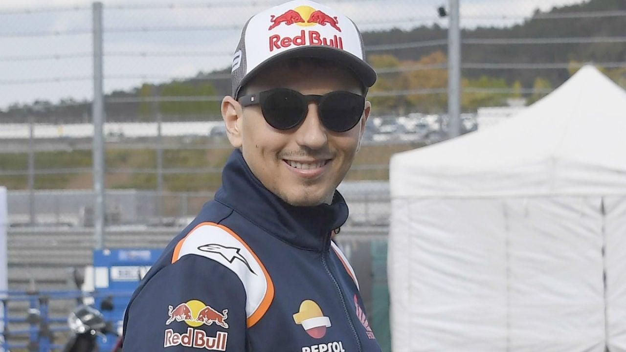 Jorge Lorenzo, en un Gran Premio