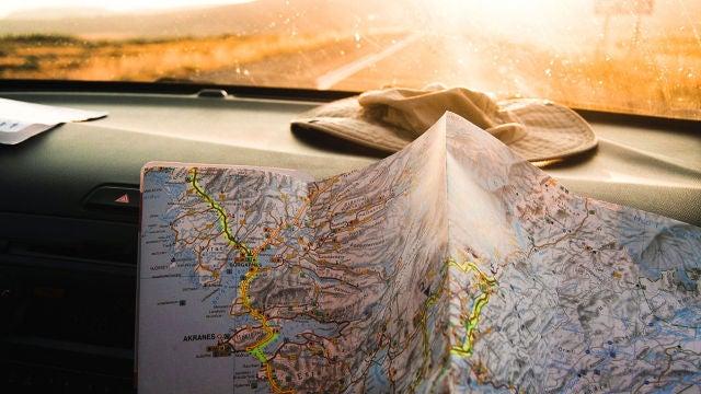 Mapas en un coche