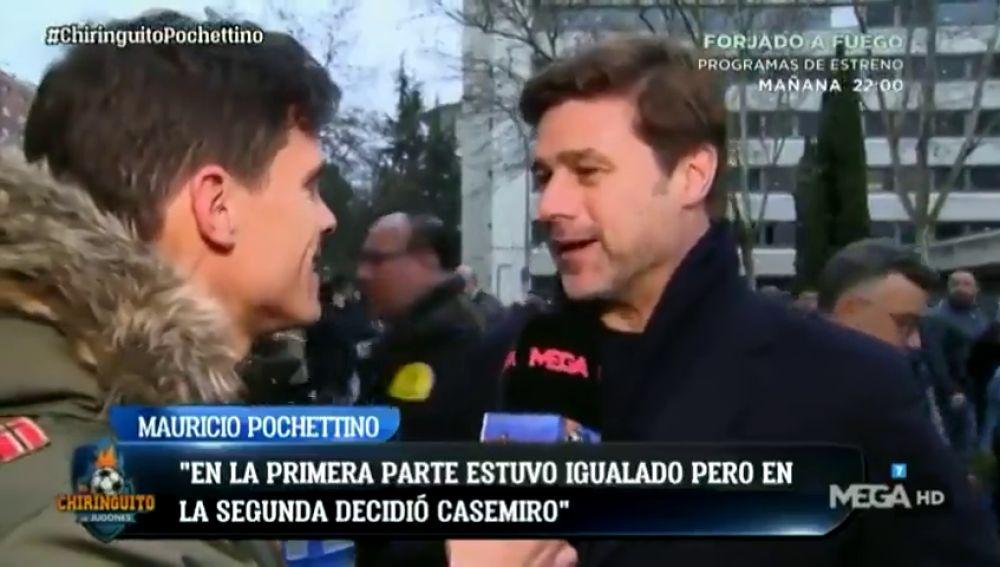 Pochettino, en el Santiago Bernabéu con El Chiringuito: ¿dijo 'no' al FC Barcelona?
