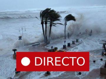 Borrasca Gloria en directo | Temporal en Valencia, Alicante y resto de España
