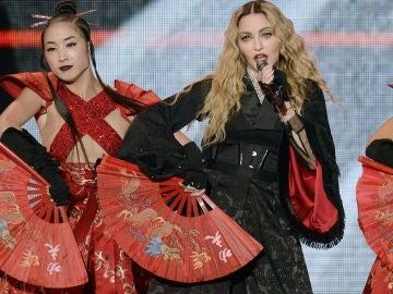 Imagen de la cantante estadounidense Madonna durante uno de sus conciertos del tour 'Madame X'.