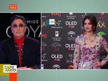 """La decepción de Josie con el look de su amada Penélope Cruz en los Goya: """"Transmite que no lo está pasando bien con la moda"""""""
