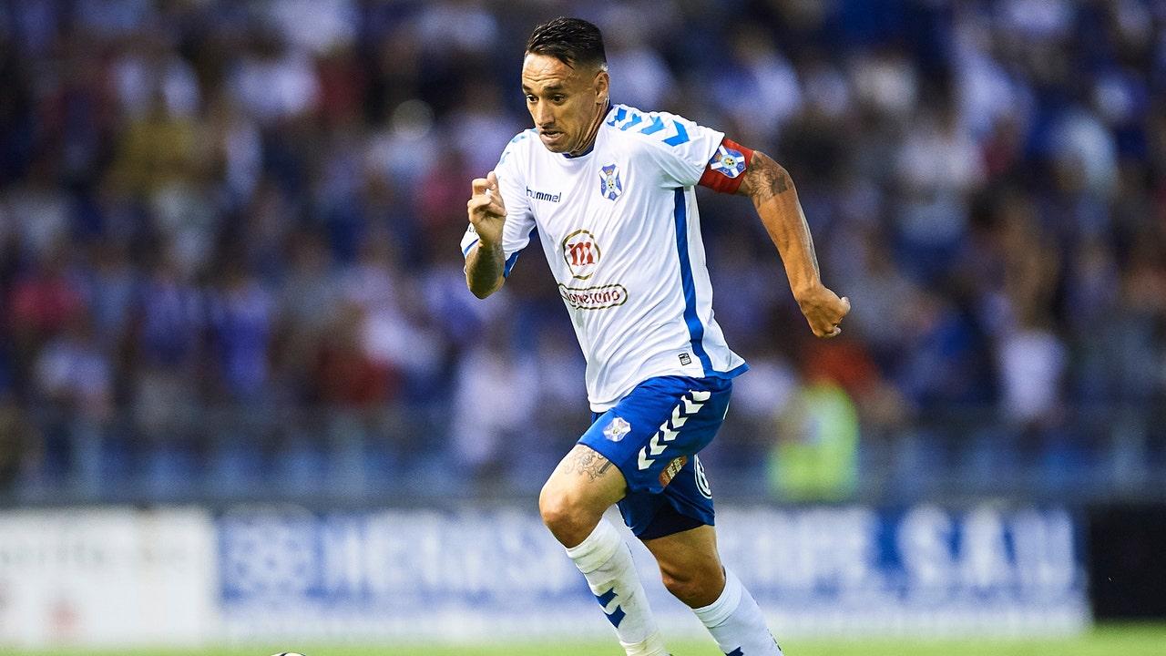 Suso Santana, capitán del Tenerife.