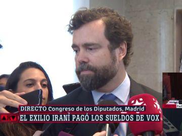Espinosa de los Monteros, portavoz de Vox en el Congreso