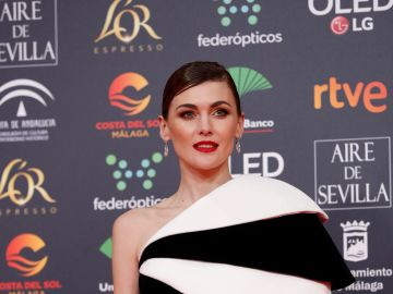 La actriz Marta Nieto, a su llegada a la entrega de los Premios Goya