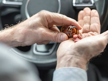 Medicación al volante