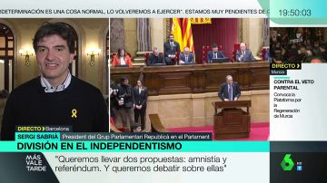 """Más vale tarde (28-01-20) Sergi Sabrià (ERC): """"Estamos del lado de Quim Torra, del diputado y del presidente"""""""