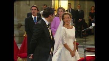 Campanas de boda en 2002: del enlace de la hija de Aznar, al de Sara Montiel o el de Jesulín de Ubrique