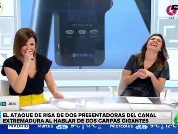 El ataque de risa de dos presentadoras en pleno directo