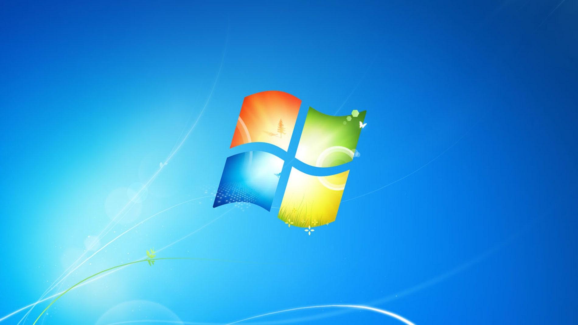 Fondo de pantalla oficial de Windows 7.