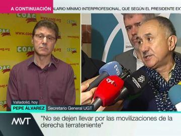 """Miguel Blanco (COAG) responde a Pepe Álvarez: """"No somos terratenientes, representamos a los pequeños y medianos agricultores"""""""