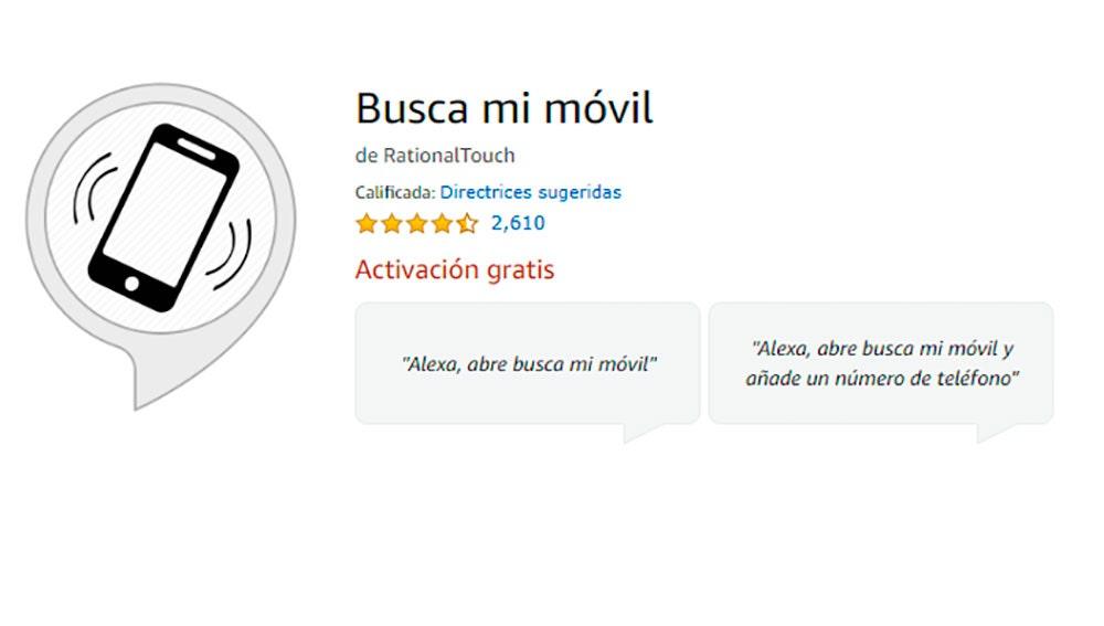 La skill para el Amazon Echo