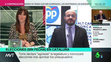 """Alejandro Fernández, tras la convocatoria de elecciones en Cataluña: """"Dilatan el tiempo para esa guerra a navajazo limpio entre ERC y JxCat"""""""