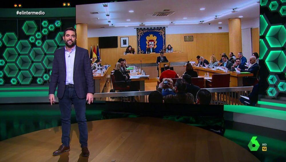 """El 'análisis' de Dani Mateo a la bronca en la Asamblea de Ceuta: """"Los insultos de Vox son como su ideología, preconstitucionales"""""""