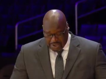 Shaquille O'Neal se emociona al recordar a Kobe Bryant