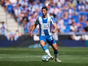 Esteban Granero con la camiseta del Espanyol