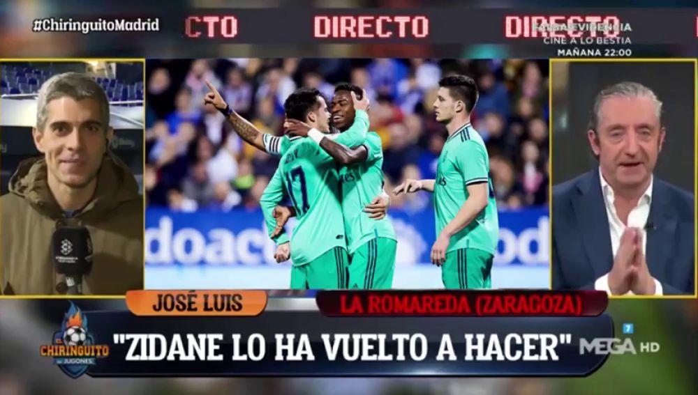 """Josep Pedrerol y el cambio en el Real Madrid: """"Mourinho fue un gran revulsivo, corrían como gacelas..."""""""
