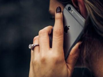 Llamando con un iPhone