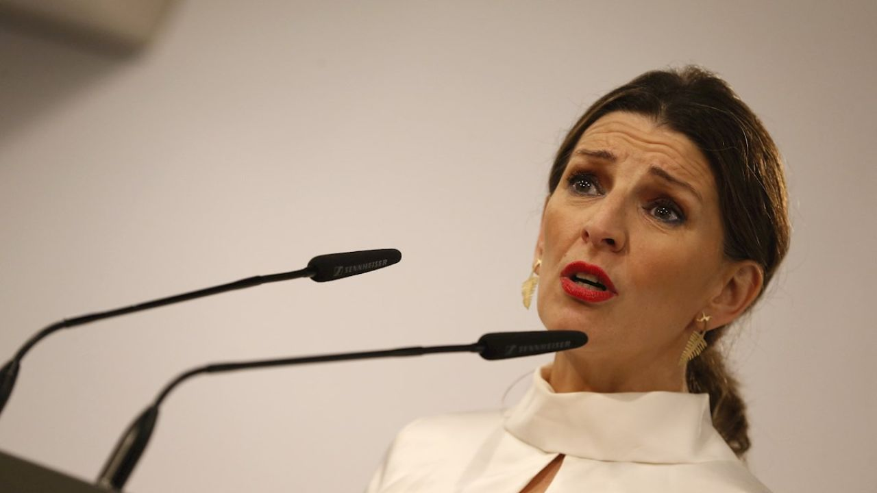 La ministra de Trabajo, Yolanda Díaz