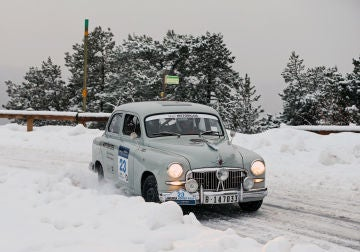El SEAT 1400 regresa al Rallye Monte-Carlo