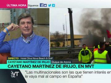 """Cayetano Martínez de Irujo: """"Yo soy un agricultor más, qué terrateniente ni qué tonterías"""""""