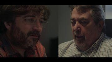 Jordi Évole y Juan Alberto Belloch
