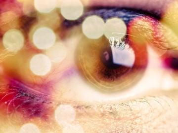 Luces en el ojo